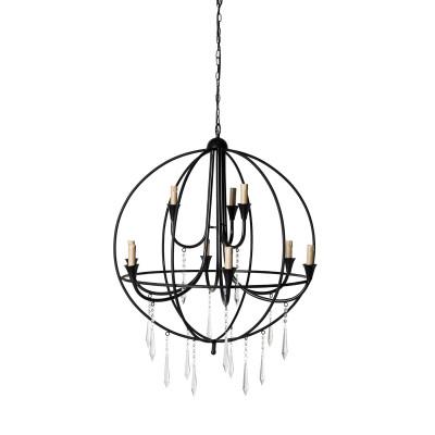 Round chandelier