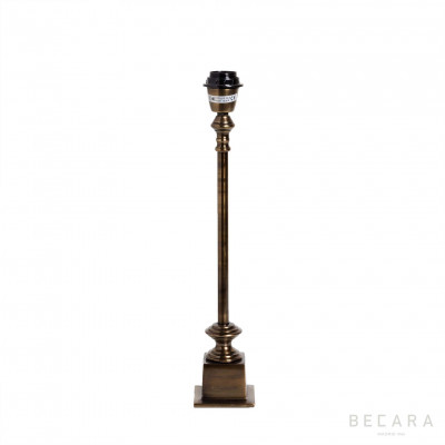 LAMPARA MESA BRONCE  - BECARA