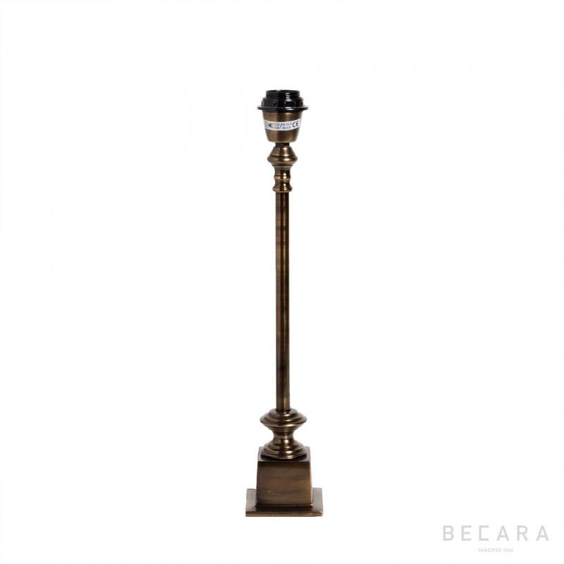 Lámpara de mesa de bronce - BECARA