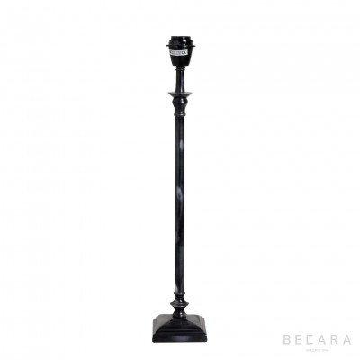 Small dark bronze table lamp