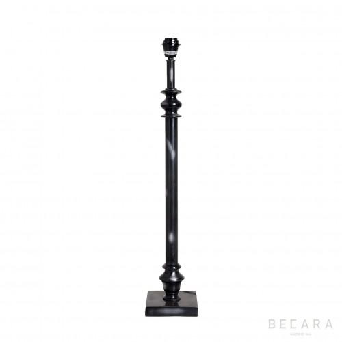 Lámpara de mesa de bronce oscuro grande - BECARA