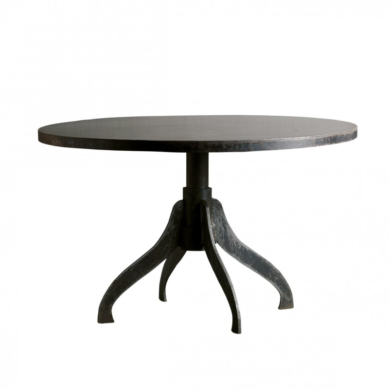 Round Dining Table With 4 Legs