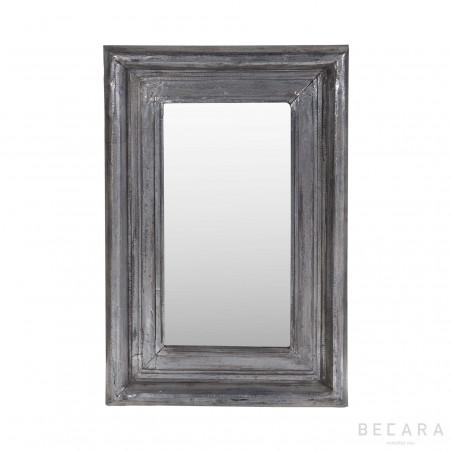 Espejo plateado 58x85cm