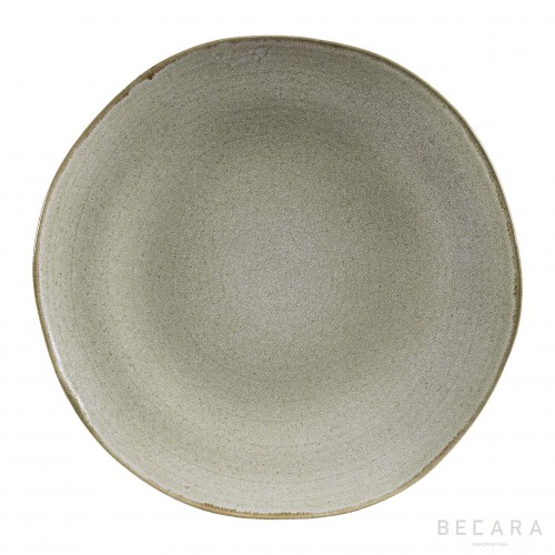 White Shark round big plate
