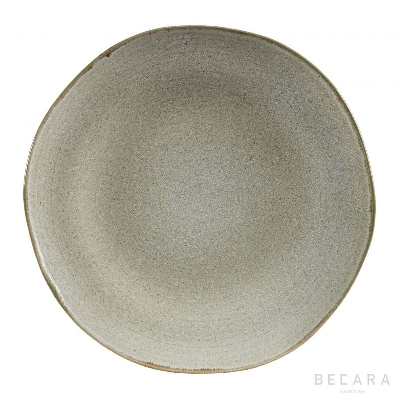 White Shark round big plate