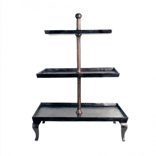Bronze shelves with 3 floors