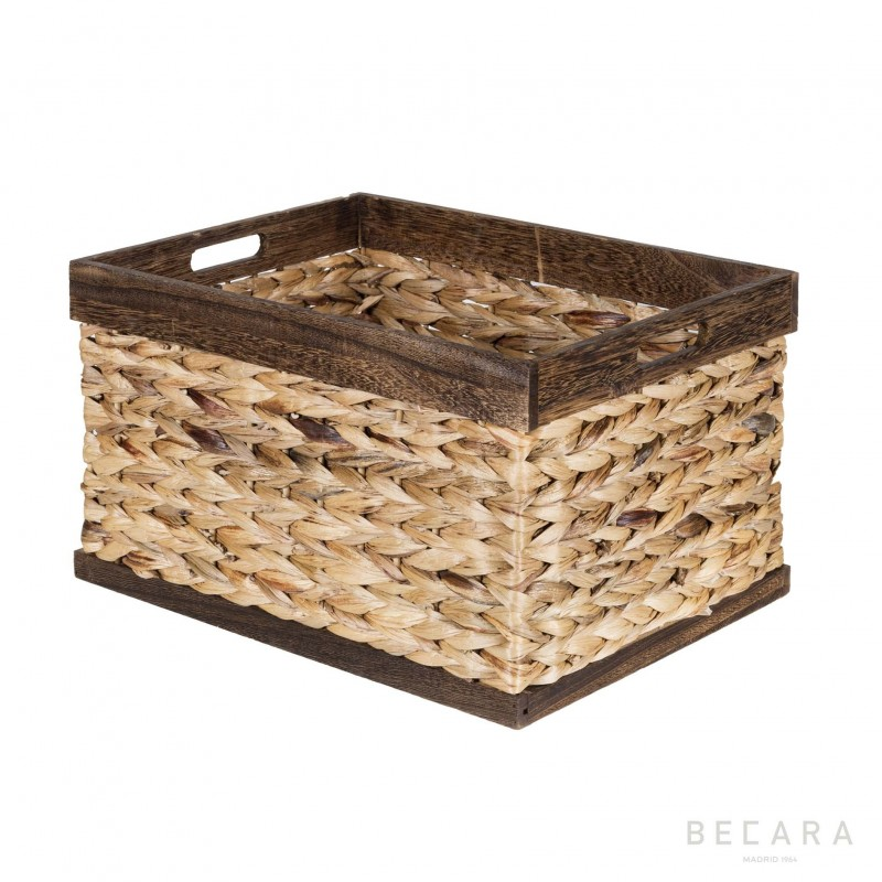 43x33x25cm brown edge basket