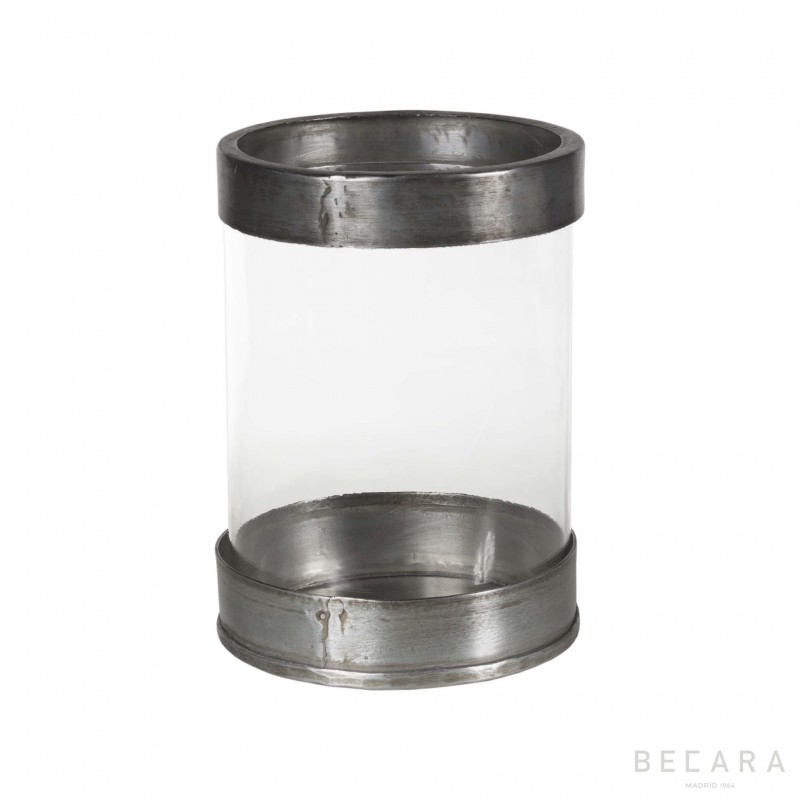 Verina de níquel y cristal pequeña - BECARA