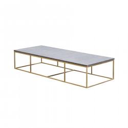 180X70X40 STONE MANHATTAN TABLE
