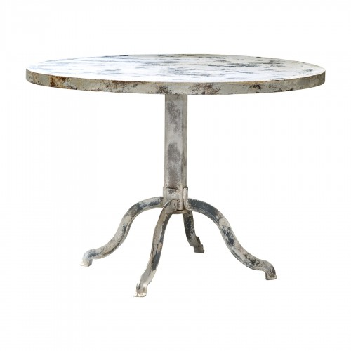 Stained grey side table