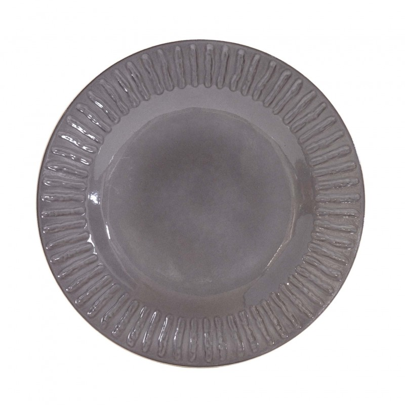 Grey Assis dessert plate
