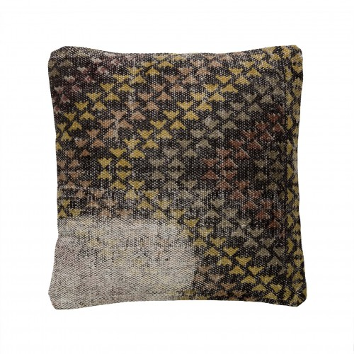 40x40cm black and yellow cushion