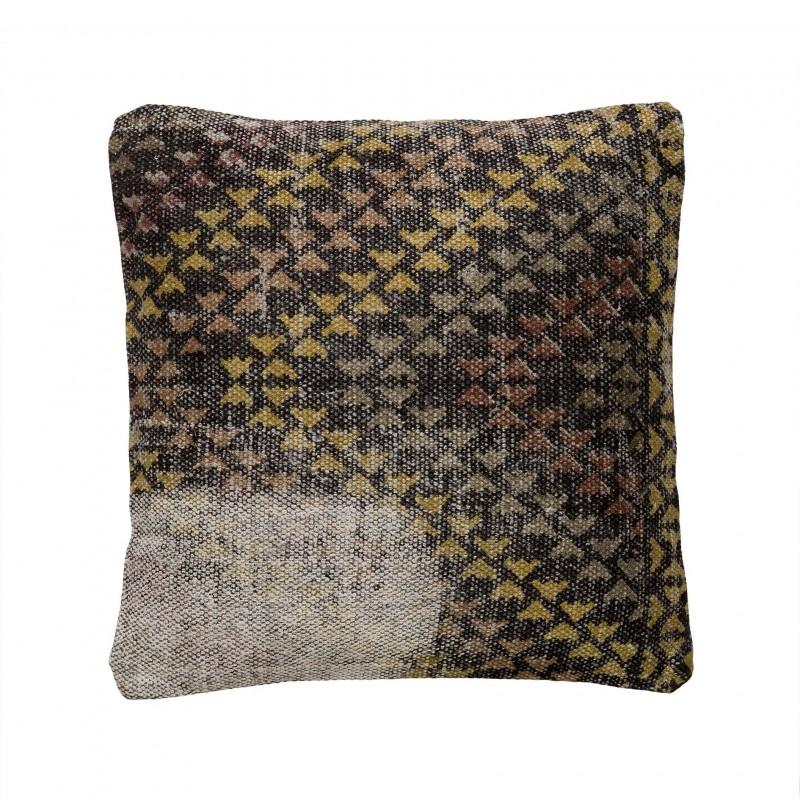40x40cm black and yellow cushion
