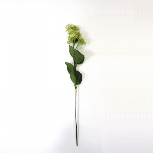 81cm green and pink Hortensia branch