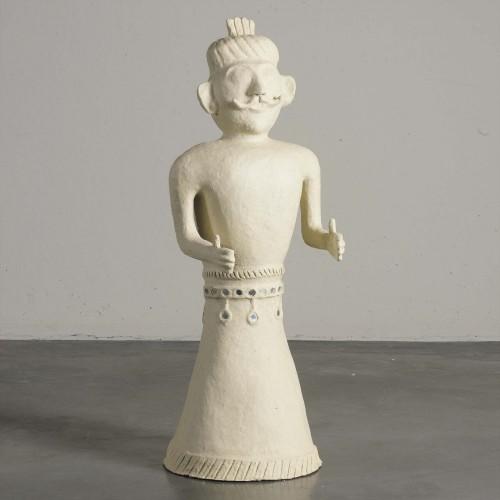 Figura de papel maché hombre - BECARA