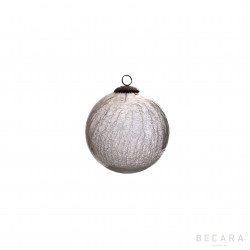 Bola de Navidad cristal pequeña