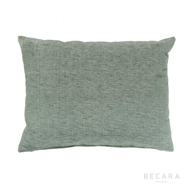 Cojín gris jaspeado 45x60cm - BECARA