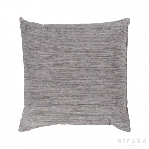 50x50cm grey mottled vertical lines cushion