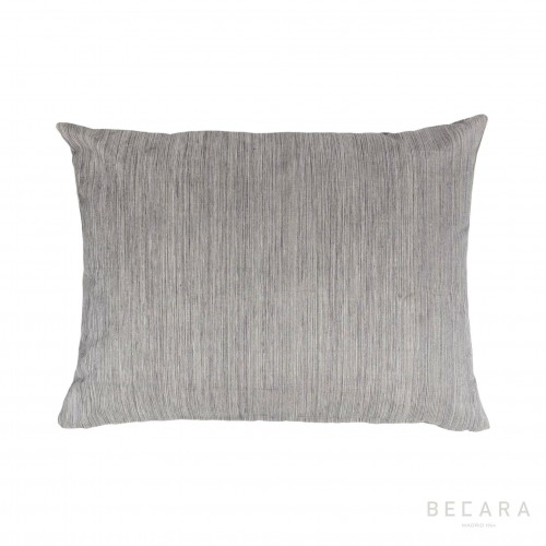 45x60cm grey mottled vertical lines cushion
