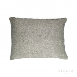 45x60cm grey zig-zag lines cushion