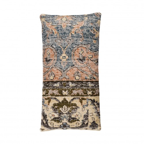 30x60cm blue and beige cushion