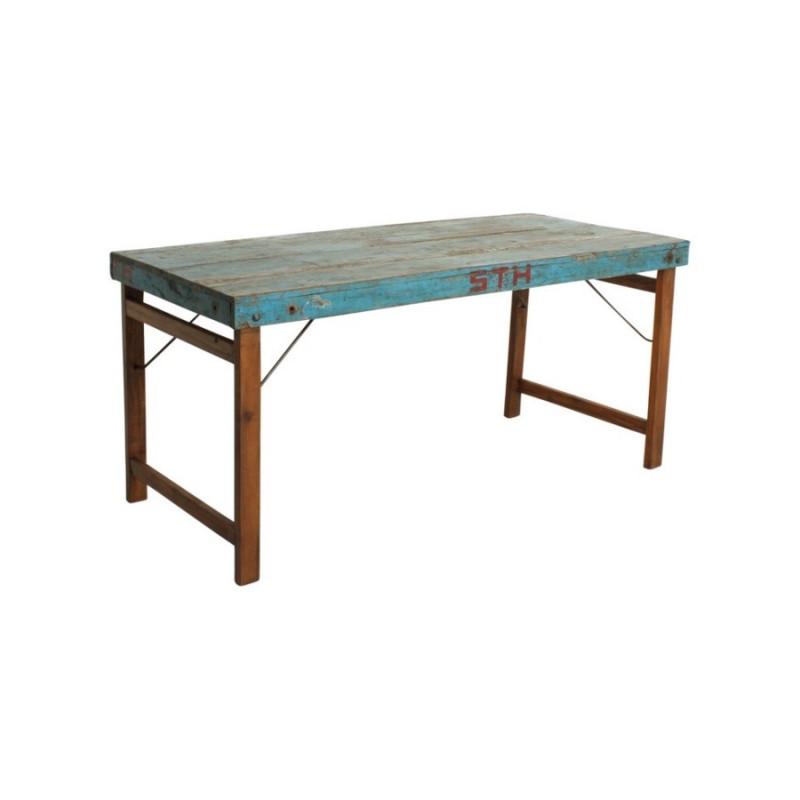 90be4494a Kilmer blue dining table - Becara Tienda online