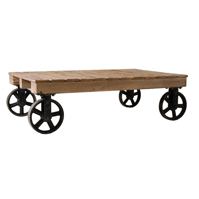 Norton coffee table with boards