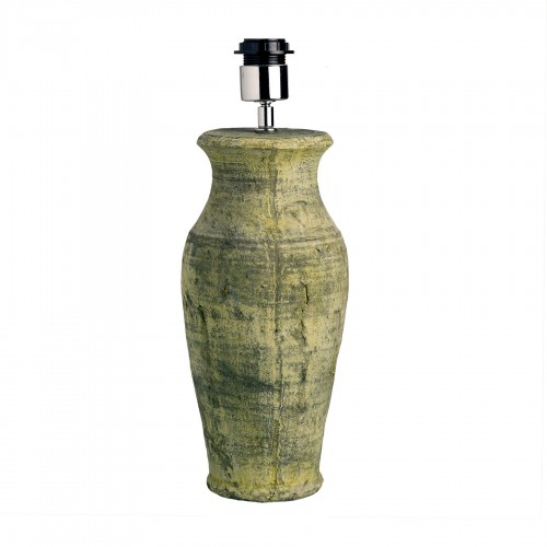 Ø42cm green pot table lamp