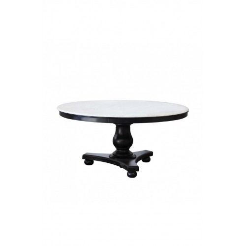 Black tekka Diana dinning table