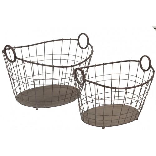 Set de 2 cestas Brant - BECARA