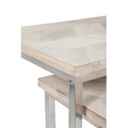 Ambra set of 2 side tables