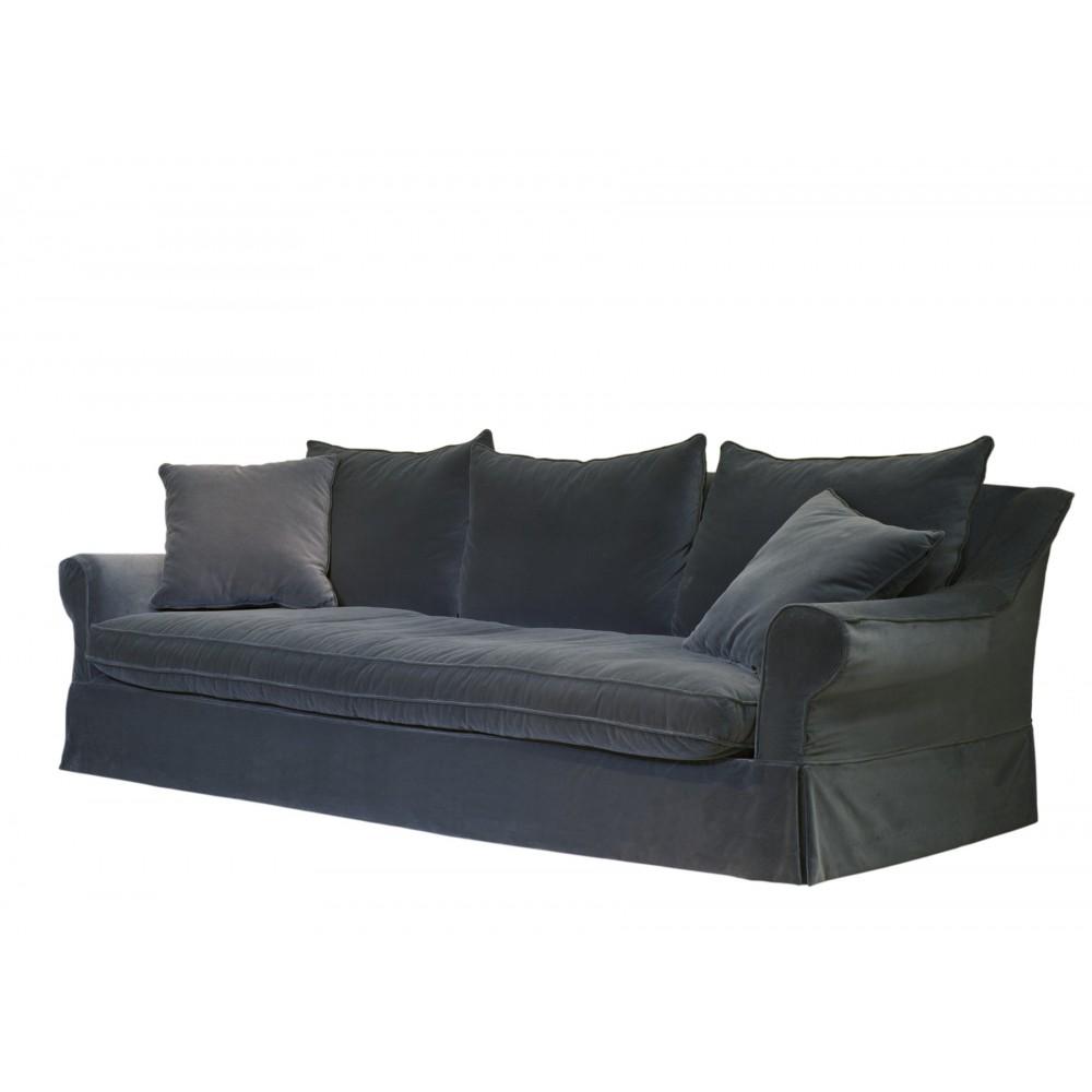 Tapizar cojines de sofa sof tapizado en tela amarilla con - Tapizar cojines sofa ...