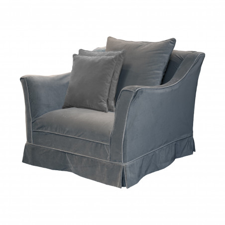 Covered Algarve armchair