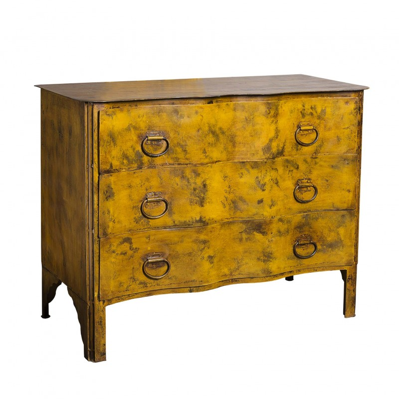Yellow iron dresser