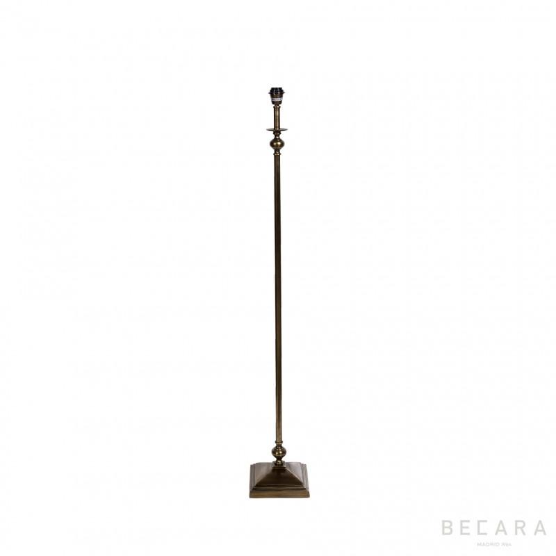 Lámpara de pie bronce oscuro - BECARA
