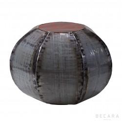 Mesa-Puff heptagonal gris