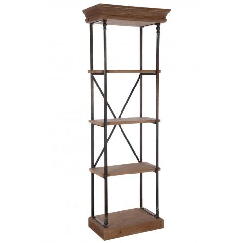 Cross shelves