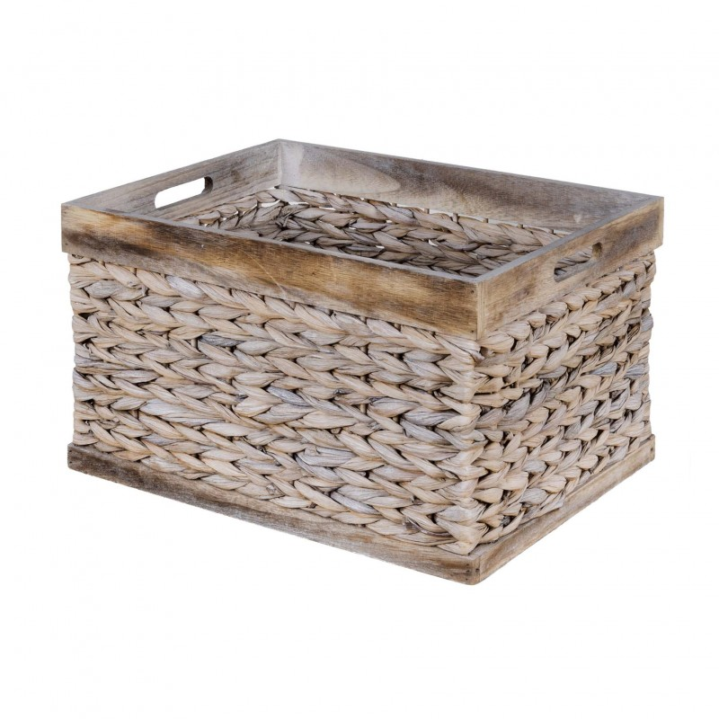 43x33x25cm white edge basket