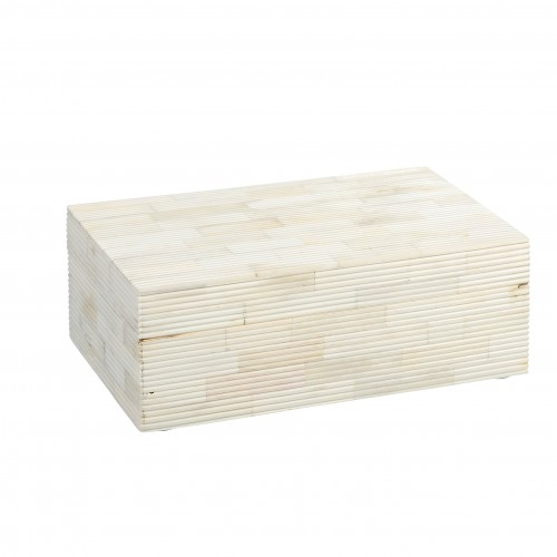 Caja Madawa beige grande - BECARA