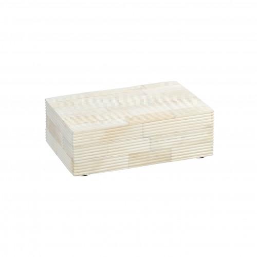 Caja Madawa beige pequeña - BECARA