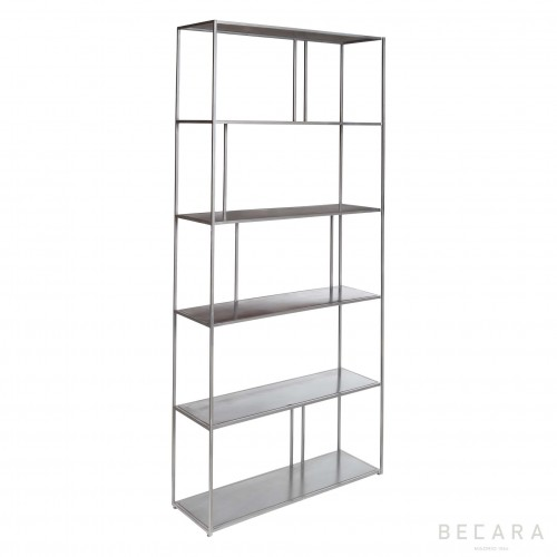 196x90cm iron shelves with spaces