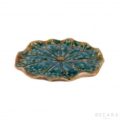 Small Lotus leaf decorative plate