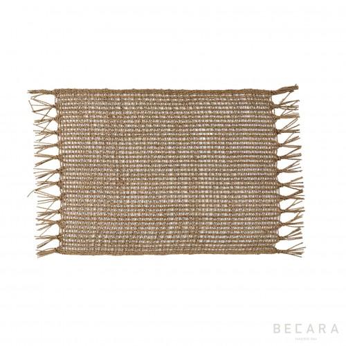 Mantel individual de cuerdas - BECARA