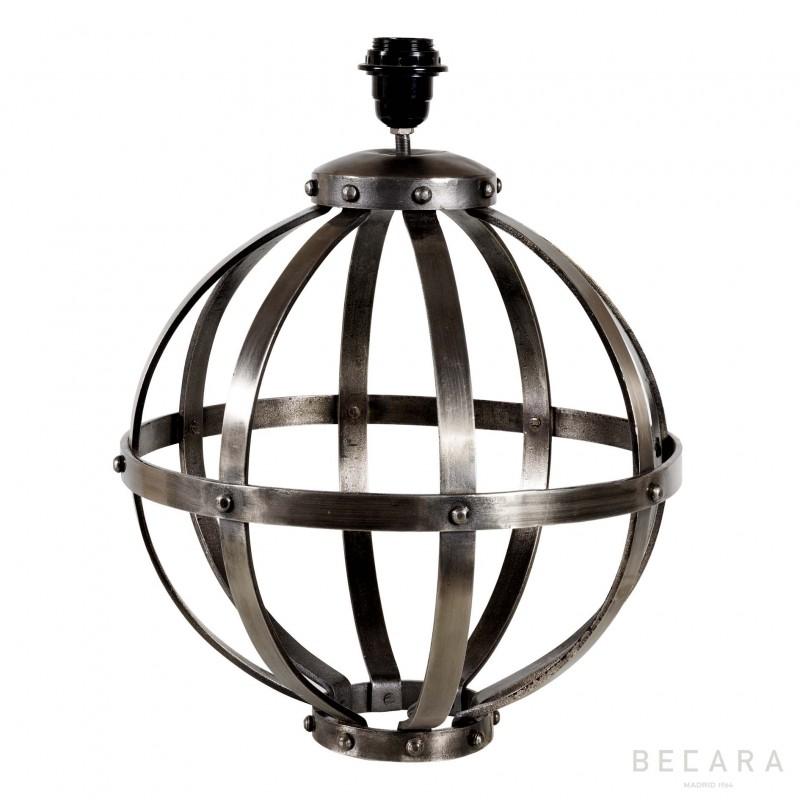 Lámpara de mesa esférica con tiras - BECARA