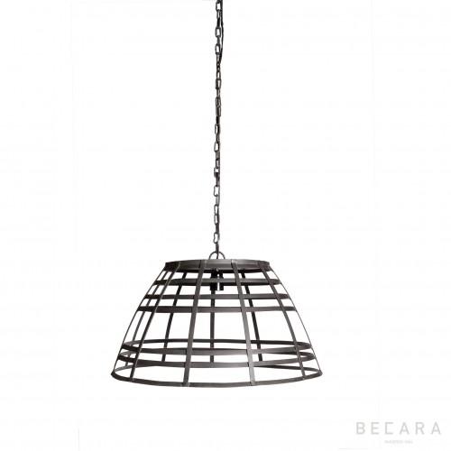 Lámpara de techo tiras de metal