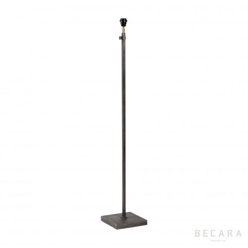 Lámpara de pie gris - BECARA
