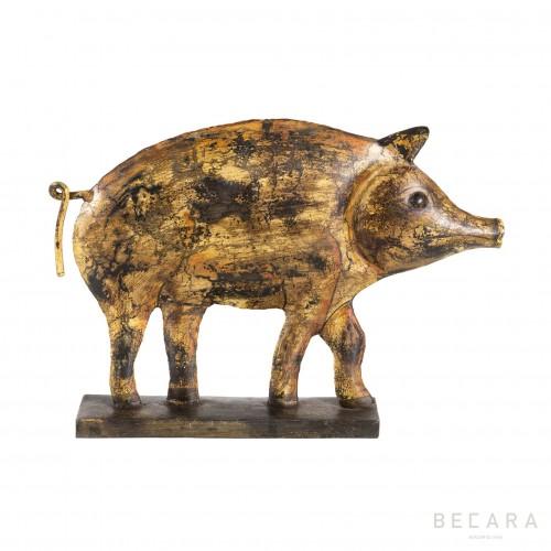 Cerdo de metal  - BECARA