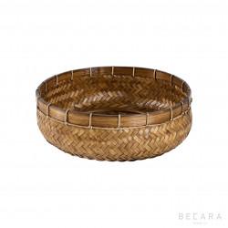 Big natural rattan basket