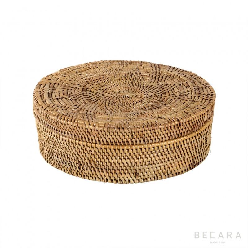 Caja redonda mediana - BECARA