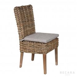 Malibu chair with cushion